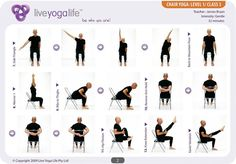 chair yoga | Yoga Office Chair Easy Yoga Poses For Seniors | Yoga With a Chair ...