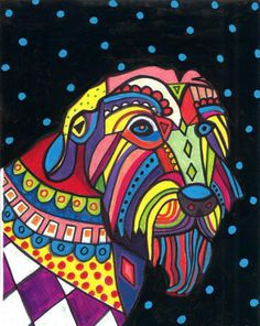 colorful art by Heather Galler