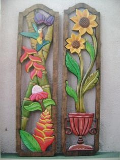 cuadros en madera - Buscar con Google 3d Wall Art, Mural Art, Wood Crafts, Paper Crafts, Diy Crafts, Cold Porcelain Flowers, Whittling Wood, Intarsia Woodworking, Quilling Patterns