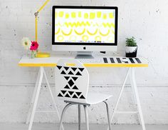 MY DIY   Graphic Desk Chair