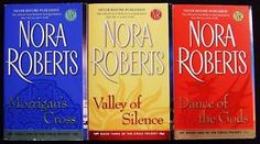 Nora Roberts Circle Trilogy: Morrigan's Cross, Valley of Silence, Dance of the Gods