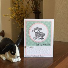 Stamping, Card Making, Scrapbooking, Paper Crafts Easter Lamb, Chocolate Bunny, Easter Crafts, Happy Easter, Cardmaking, Stampin Up, Spring, Handmade Cards, Catalog