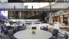 Sheraton Bloomington - Custom LED bridge mounted lights Led Fixtures, Light Decorations, Conference Room, Bridge, Lights, Table, Furniture, Home Decor, Decoration Home