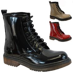 combat boots//doc marten style
