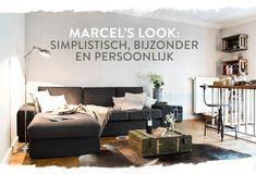 Homestory_MarcelGraf_C3 Diy Wooden Wall, Wooden Walls, Marcel, Apt Ideas, Small Studio, Small Places, Interior Inspiration, Interior Ideas, Sweet Home