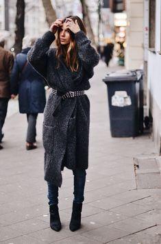 Belted Coat Maja Wyh | Street Style