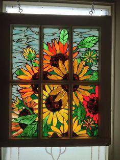 Sunny Days - from Delphi Artist Gallery by Niagara Glass Mosaics