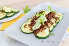 Fitness recepty s vysokým obsahom bielkovín What To Cook, Zucchini, Smoothie, Low Carb, Vegetables, Cooking, Recipes, Food, Diet