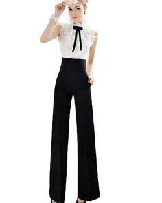 Pants, Toraway Women Flare Wide Leg Long Pants High Waist Palazzo Trousers at Amazon Women's Clothing store: