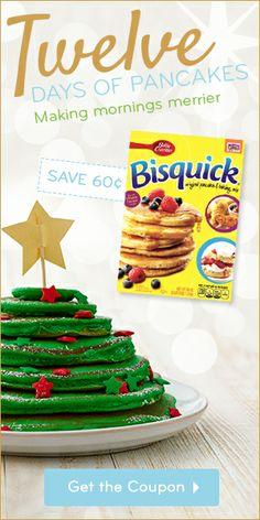 I think our elf on the shelf should make the Christmas tree pancakes. So cute!