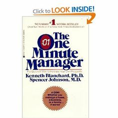 The One Minute Manager. Quick and easy read--worth your time for any business organization. Storytelling Books, One Minute Manager, Good Books, Books To Read, Karen Marie Moning, Managing People, Management Books, Reading Lists, Reading Room