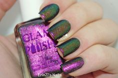 ErinZi's Nails: Glam Polish Welcome to Storybrooke Collection Multichrome Holos
