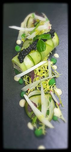 Crab-Cucumber-Goma-Caviar; Noel Ng - The ChefsTalk Project