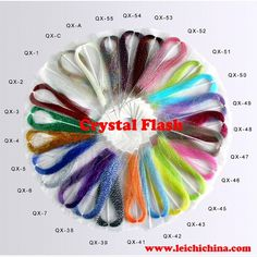 Wholesale fly tying material crystal flash fly tying, View crystal flash fly tying, OEM Product Details from Qingdao Leichi Industrial And Trade Co., Ltd. on Alibaba.com