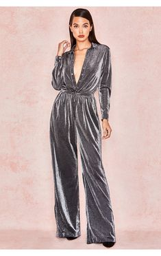 a5fa7578c5ca Beatriz Silver Black Sparkly Jumpsuit Sparkly Jumpsuit