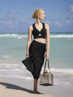 Beach Resort Fashion // Jill Stuart Combo // Styled by Kelly Framel // Ann Street Studio