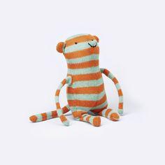 The Black Rabbit – Monkey – ModernMinor – Design-inspired children's goods – www.modernminor.com