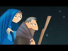 Het kerstverhaal animatie Voor jonge kinderen (3-6jaar)