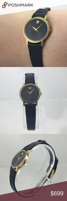 Movado ladies watch Pre-owned ladies movado watch . Perfect condition !  Swiss movement . Comes with gift box. Movado Accessories Watches