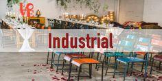 Inspiración Boda industrial http://aditips.com/boda-industrial/