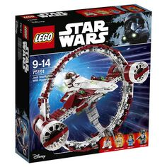 Toys R Us Hong Kong has posted the official images of the LEGO Star Wars Jedi Starfighter with Hyperdrive Obi Wan, Toys R Us, Lego Jedi, Lego War, Starwars Lego, Jango Fett, Star Wars Jedi, Star Trek, Lego Disney