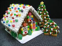 Roberta Giovaneli: Gingerbread House ( Casa de Biscoito de Gengibre )