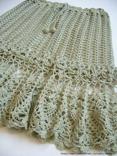 crochet skirt! - with charts (for a matching top as well!)