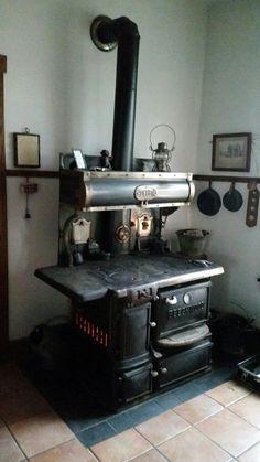 Beechwood Style A Kitchen Coal Stove