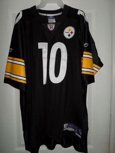 Mens PITTSBURGH STEELERS DIXON #10 Stitched Lettering NFL Jersey, Size XL, NWT #REEBOKONFIELDNFLEQUIPMENTJERSEY #PittsburghSteelers