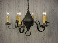 1000 images about early american chandeliers on pinterest - Early american exterior lighting ...