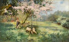 Spring Time by PHILIP EUSTACE STRETTON - Cider House Galleries