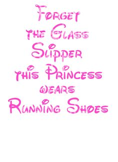 I MUST have this before next month!Forget The glass slipper this princess wears running shoes $2.00, via Etsy.