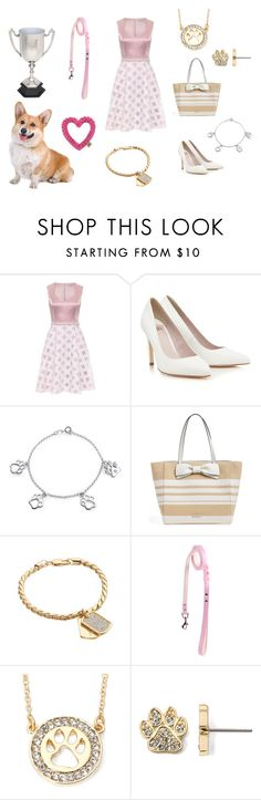 """""""DOG SHOW"""" by mivaldal on Polyvore featuring Corgi, Lipsy, Bling Jewelry, Kate Spade and Stella Valle"""