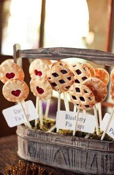 wedding pies #southernweddings #highcotton