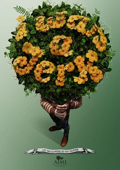 AIMI Flowers: Let the flowers do the talking - I was a Jerk. #Advertising #Flowers
