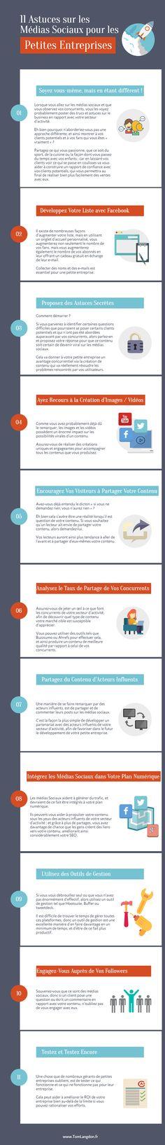 11 Astuces sur les Médias Sociaux pour les Petites Entreprises | Webmarketing & co'm #Mediasocial