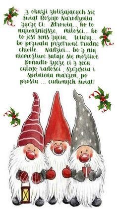 Kartka świąteczna 🌲😇🎀🎅🎁🎄⛄👼🌲😇🎀🎅🎁⛄👼🎄 Baileys Irish Cream, Rooster, Christmas Ornaments, Holiday Decor, Aga, Health, Pretty, Historia, Quote