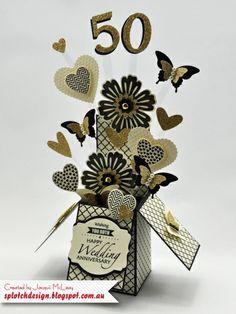 Wedding Anniversary Card in a Box