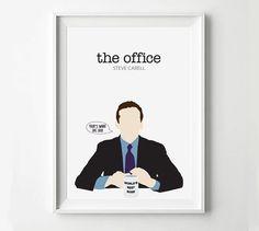 The Office Michael Scott TV Show Poster - TV Poster, Minimalist Wall Poster, Quote Print, Digital Art Print