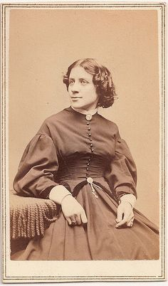 Anna E. Dickinson was an eloquent speaker of Quaker background who  took to the lecture circuit to speak on abolitionism & women's rights issues.