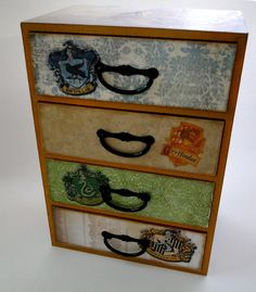 Harry Potter Keepsake Trinket box. I wish it was a dresser. How cool would that be!!!