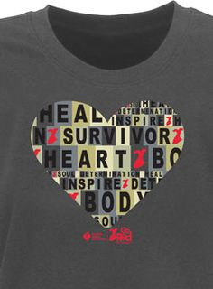 Survivor - T-Shirt. Spread the word - you survived a heart attack!! I did!!
