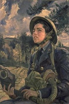 Corporal Daphne Pearson, GC, WAAF by Dame Laura Knight