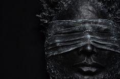 "— Нам незачем смотреть на это. Маска ""The blind cliff"".   #mask #occult #symbolic #horror #milaevance #thalamusunion #nightmare #madness #monsters #darkside #costume #horror #artobjects #sculpture #cobweb #closedeyes #darkness #ritual #psychadelic #mystic #surreal"