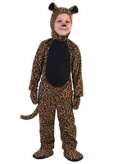 Toddler Leopard Costume
