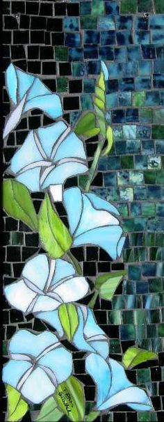 Morning Glories by Fran Stoval