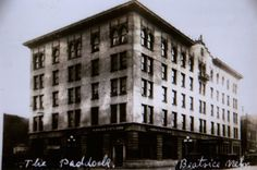 A S Paddock The Senator And His Hotel Beatrice Nebraska