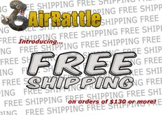 AirRattle Announces Free Shipping Promo