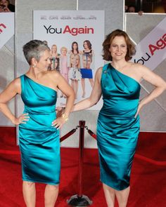 Jamie Lee Curtis and Sigourney Weaver: Who wore it better?