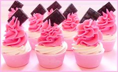 layered mini cupcakes   The Happy Housewife and her soap obsession